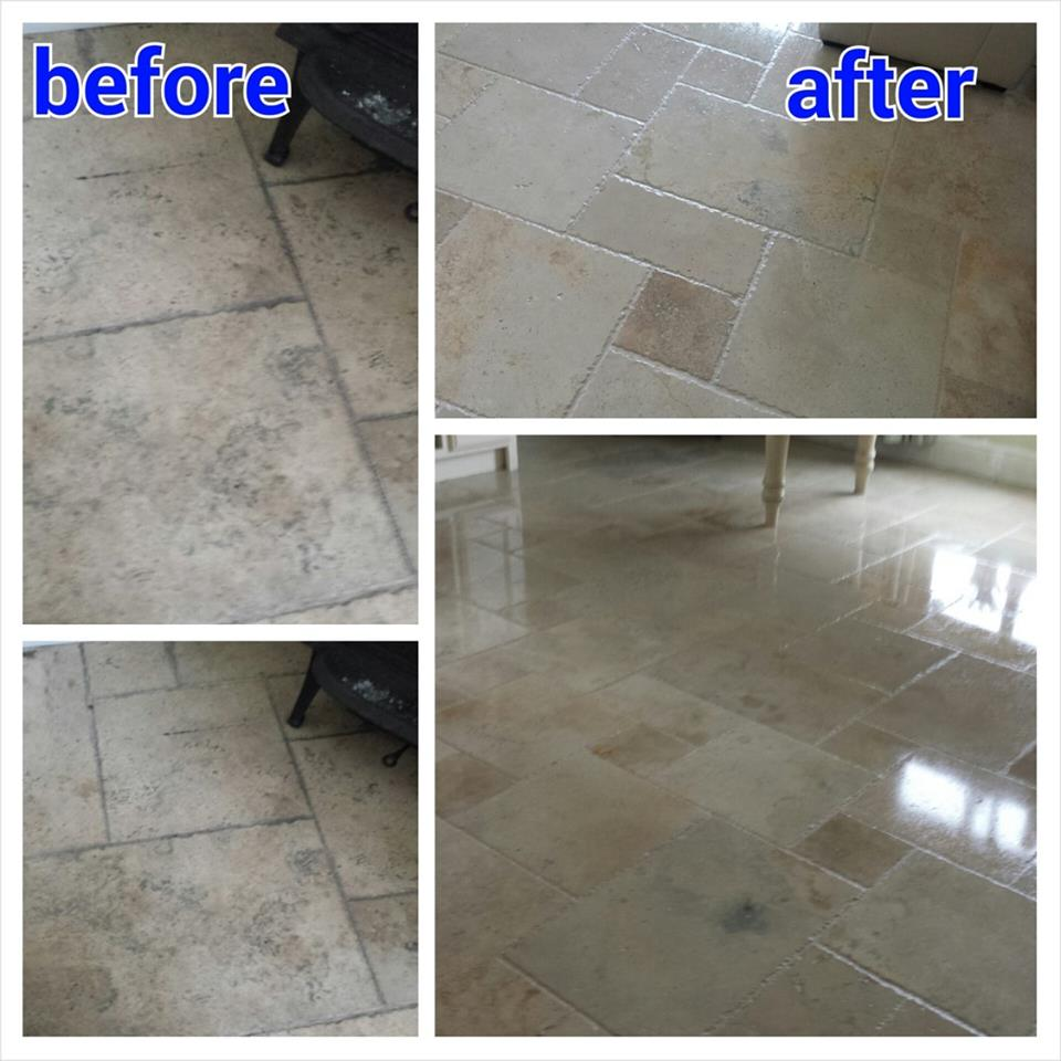 kitchen tiles before and after